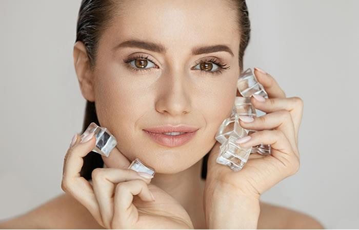 Como hacerte un tratamiento facial con hielo