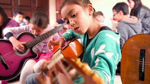 Efectos música en niños